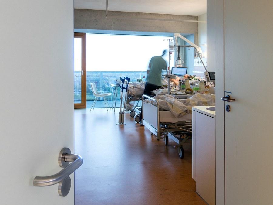 Krankenzimmer im Triemli Spital Zürich