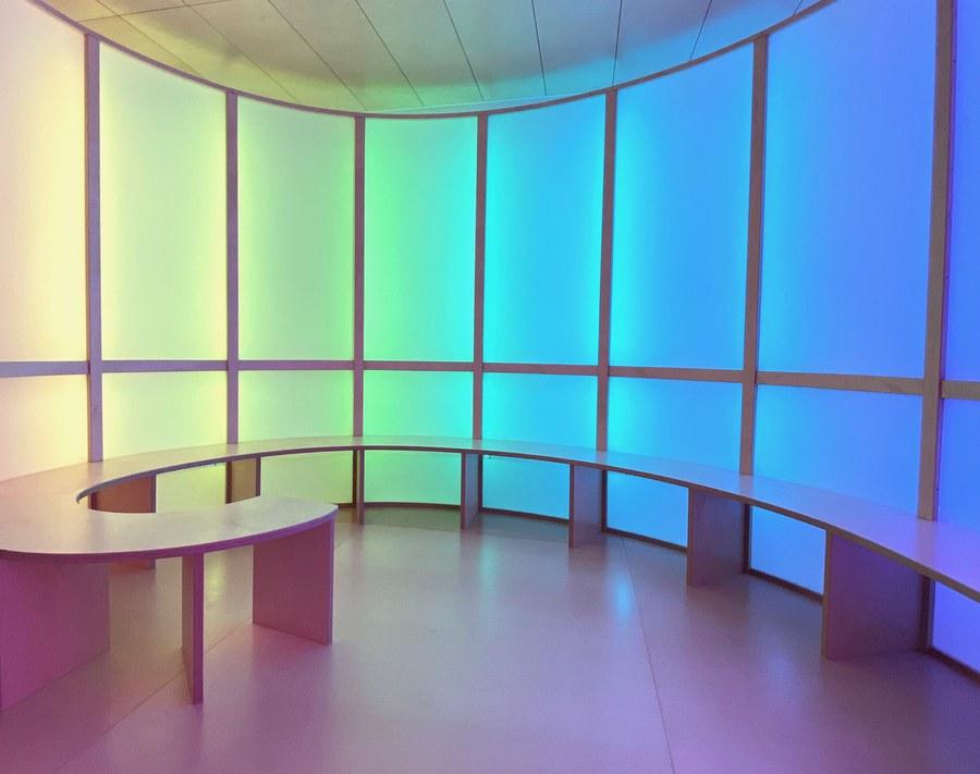 Raum der Stille in der Clienia Schlössli-Klinik, Oetwil am See.