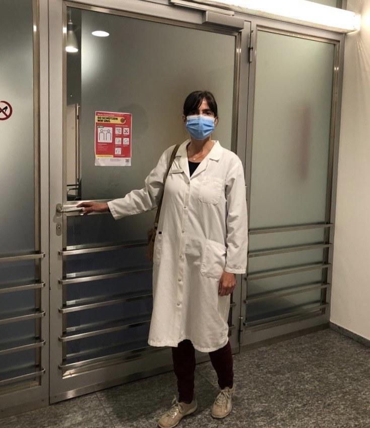 Seelsorgerin Sonja Kaufmann in der Psychiatrischen Universitätsklinik Zürich